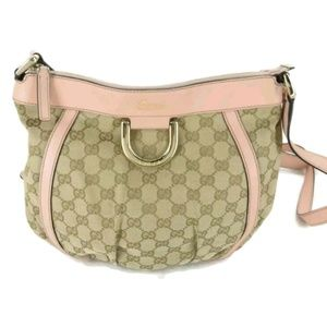 100% AUTH GUCCI GG CANVAS Crossboey Bag